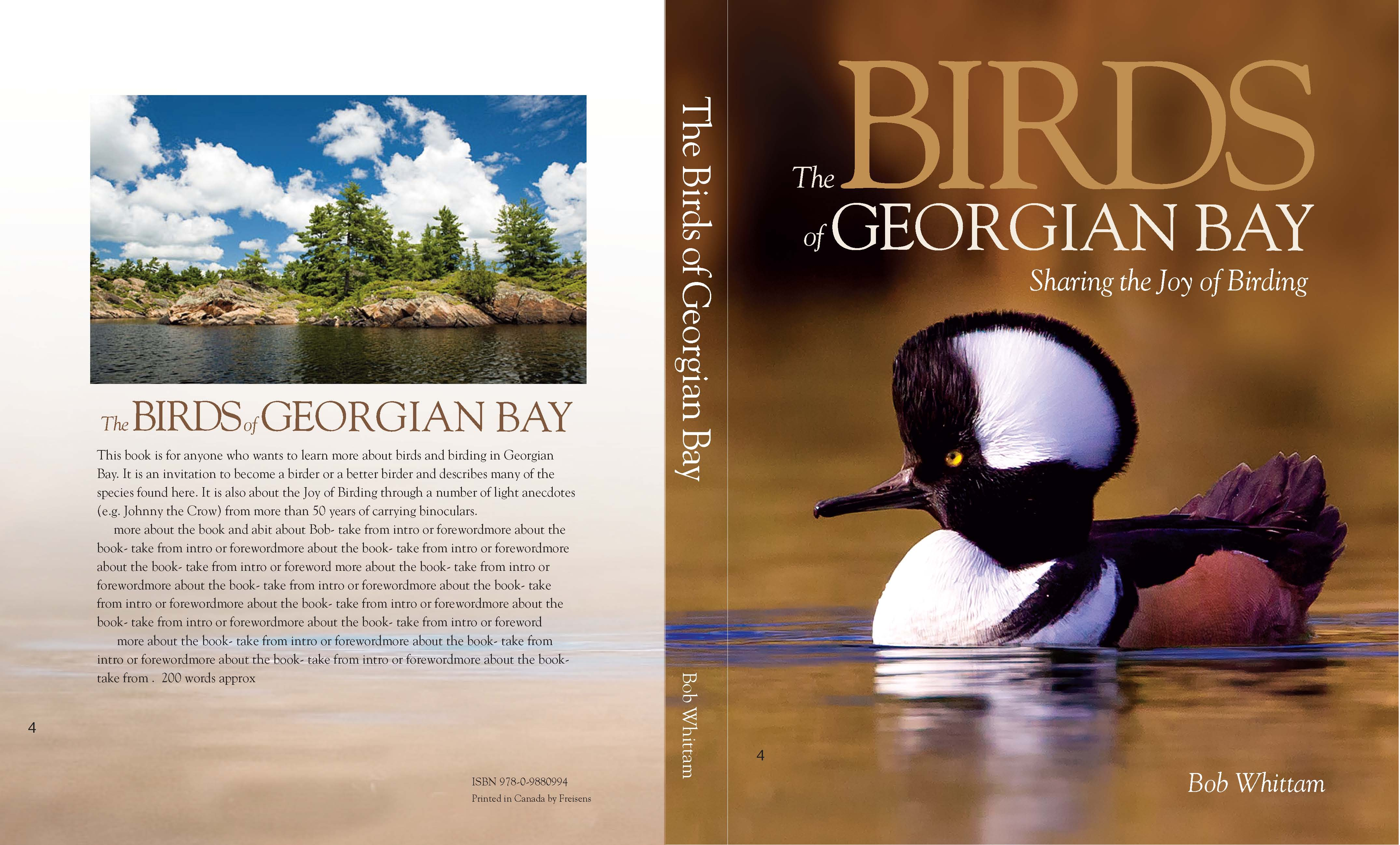 Birds of Georgian Bay Book